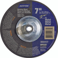 Norton 66252912633 7 By 1/4 By 5/8-11 Metal Aluminum Oxide Type 27