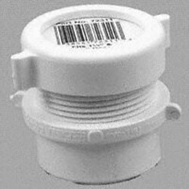 Canplas 192858A 1-1/2 Pvc Reducing Adapter