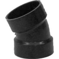 Ipex Canplas 102552BC 2 Inch Abs 22-1/2 Degree Elbow