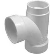 Ipex Canplas 71122 2 By 1-1/2 By 2 Inch Sanitary Tee