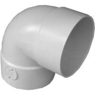Ipex Canplas S40730 3 Inch Styrene 90 Short Turn Elbow