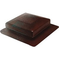 Canplas 6050BR Duraflo Square Top Roof Vent Brown