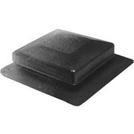 Canplas 6050G Duraflo Square Top Roof Vent Gray