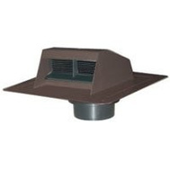Canplas 6011BR Duraflo Bathroom Exhaust Vent Brown
