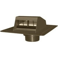 Canplas 6013BR Duraflo Roof Dryer Exhaust Vent Brown