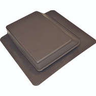 Canplas 6065BR Duraflo Brown Slant Back Roof Vent