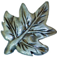 Sierra Lifestyles SL-681321 Rustic Lodge Collection Maple Leaf Cabinet Knob Pewter