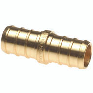 Conbraco APXC1212 Apollo Coupler Pex 1/2Inch Brass (Bag Of 1)
