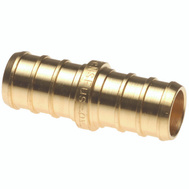 Conbraco APXC121210PK Apollo Coupler Pex 1/2In Brass 10Pk (Bag Of 10)