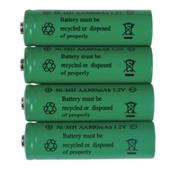 Boston Harbor 24184 Batteries Rchargbl Aa Nimh 4pk