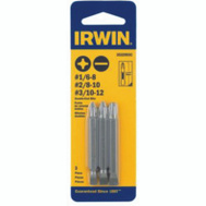 Irwin 3532993C Double Ended Insert Bit Set