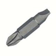 Irwin 3054001 Slotted Double-End Bit 2 Pc.