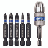 Irwin IWAF1306 6 Piece Impact Driver Quick Change Guide Set