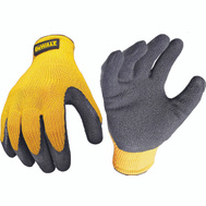 Radians DPG70L DeWalt Gloves Rubber Coated Grip Large