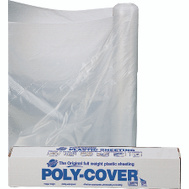 Orgill Poly 6X16-C Poly Film 6 Mil Plastic Clear Polyethylene Film 16 By 100 Foot
