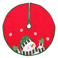 Dyno Seasonal 2243649-3CC 24 Inch RED/WHT Tree Skirt