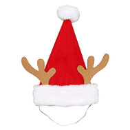 Dyno Seasonal 0409015-1CC 10 Inch RED/WHT Pet Hat