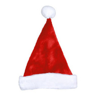 Dyno Seasonal 0402009AZSACC 17 Inch RED Plush Santa Hat
