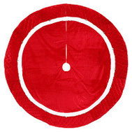 Dyno Seasonal 2566092-1CC 56 Inch RED Bell Tree Skirt