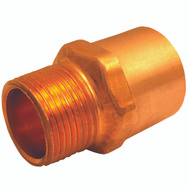 Elkhart 30304 3/8 By 1/2 Inch Copper Male Adapter
