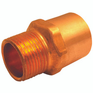 Elkhart 30316 1/2 Id By 3/4 Mipt Copper Adapter
