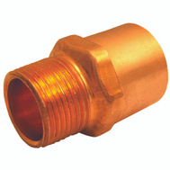 Elkhart 30338 3/4 By 1/2 Inch Copper Male Adapter
