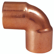 Elkhart 31262 1/4 By 1/4 90 Degree Copper Elbow