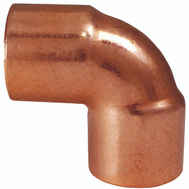 Elkhart 31266 3/8 By 3/8 90 Degree Copper Elbow