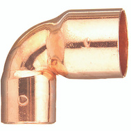 Elkhart 31274 1/2 By 3/8 90 Degree Copper Elbow