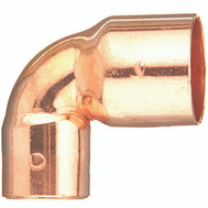 Elkhart 31298 1 By 3/4 Wrought Copper 90 Elbow