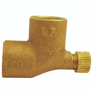 Elkhart 10151118 1/2 Cast Copper 90 Elbow With Cap
