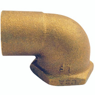 Elkhart 10156794 Lo-Lead 3/4 Inch C X F Copper 90 Degree Elbow