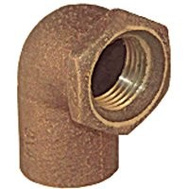 Elkhart 10156816 Lo-Lead 1/2 Inch C X F Copper 90 Degree Elbow