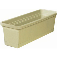 True Temper WB3012OG Southern Patio 30 Inch GRN Wind Box Planter