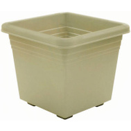 True Temper DP1510OG Southern Patio 15 Inch Medallion Deck Planter Green