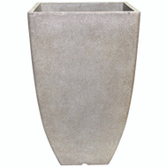 True Temper HDR-012177 Southern Patio Planter Square Bone 10.5In