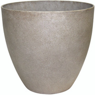 True Temper HDR-012344 Southern Patio Planter Egg Bone Wash 13in