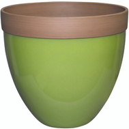 True Temper HDR-012412 Southern Patio Planter Devyn Spring 14.5in