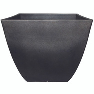 True Temper HDR-019268 Southern Patio Planter Square Coffee 10.5