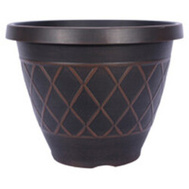 True Temper HDR-054849 Planter Garden Round 15in