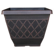 True Temper HDR-054856 Planter Garden Square 16in