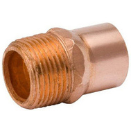 B&K Mueller W 61171 1-1/4 Copper Mpt Adapter