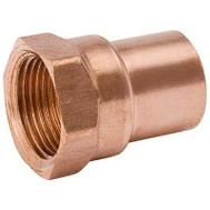 B&K Mueller W 61271 1-1/4 Copper By Female Adapter