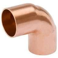 B&K Mueller W 61617 3/8 Copper 90 Degree Elbow