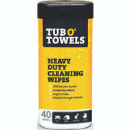 Federal Process TW40 Gasoila Tub O'towels Clean Wipes 40Ct