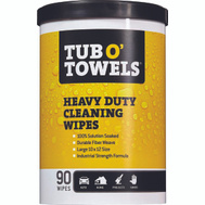 Federal Process TW90 Gasoila Tub O'towels Clean Wipes 90Ct