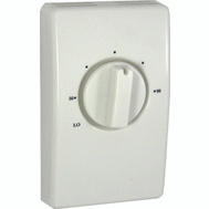 TPI S2022 Thermostat Single Pole Wall Mounted