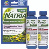 SBM Life Science 706186B Natria Lawn Weed Control Al369 Two 5 Ounce Bottles Makes 2 Gallons