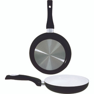 Dura Kleen 8128-BK Fry Pan 11In Crmc Coated Blk