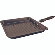 Dura Kleen 418 Eurohome Grill Pan N/Stk Carb Stl 11In